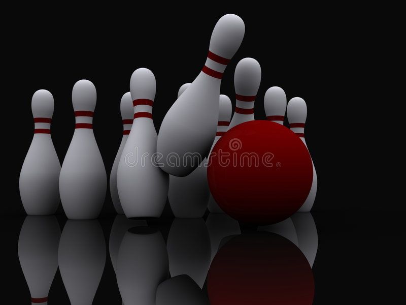 Bowling 4 Royalty Free Stock Image