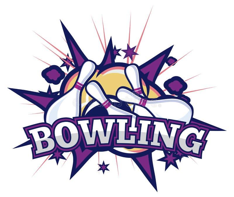 bowling illustration de vecteur