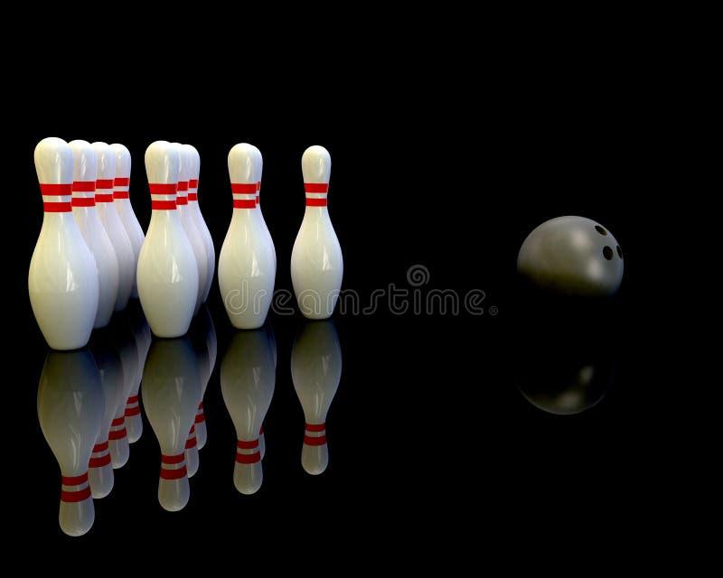 Bowling ilustração royalty free