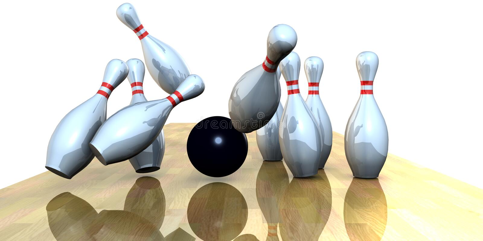 Bowling vector illustration