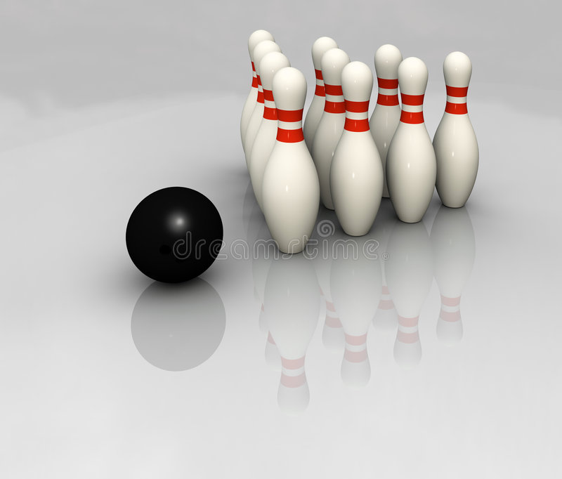 Bowling libre illustration
