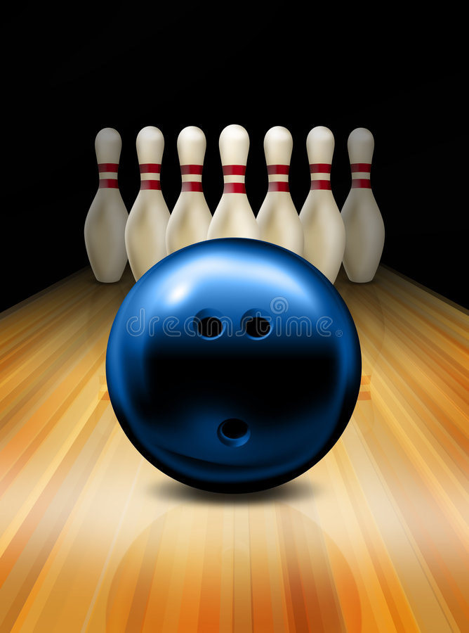 Bowling libre illustration