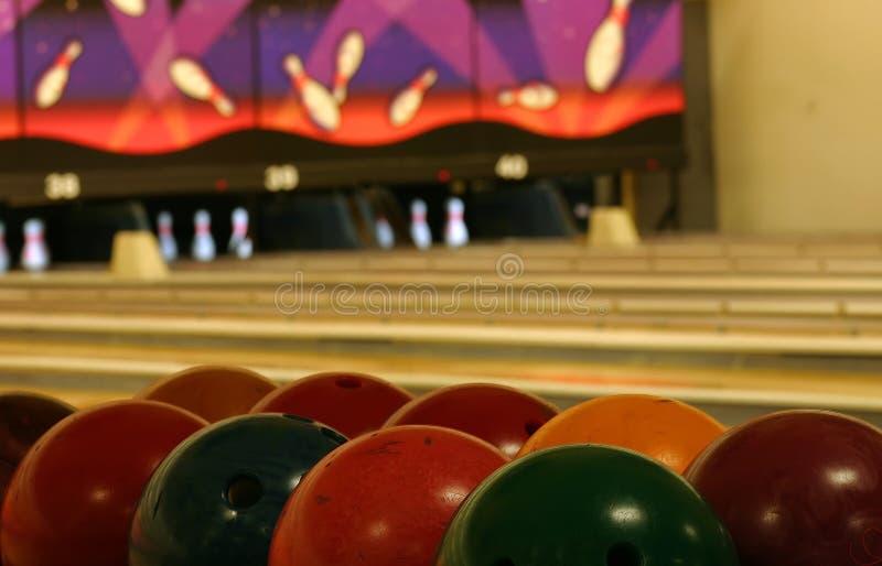 Bowling Abstract royalty free stock photos