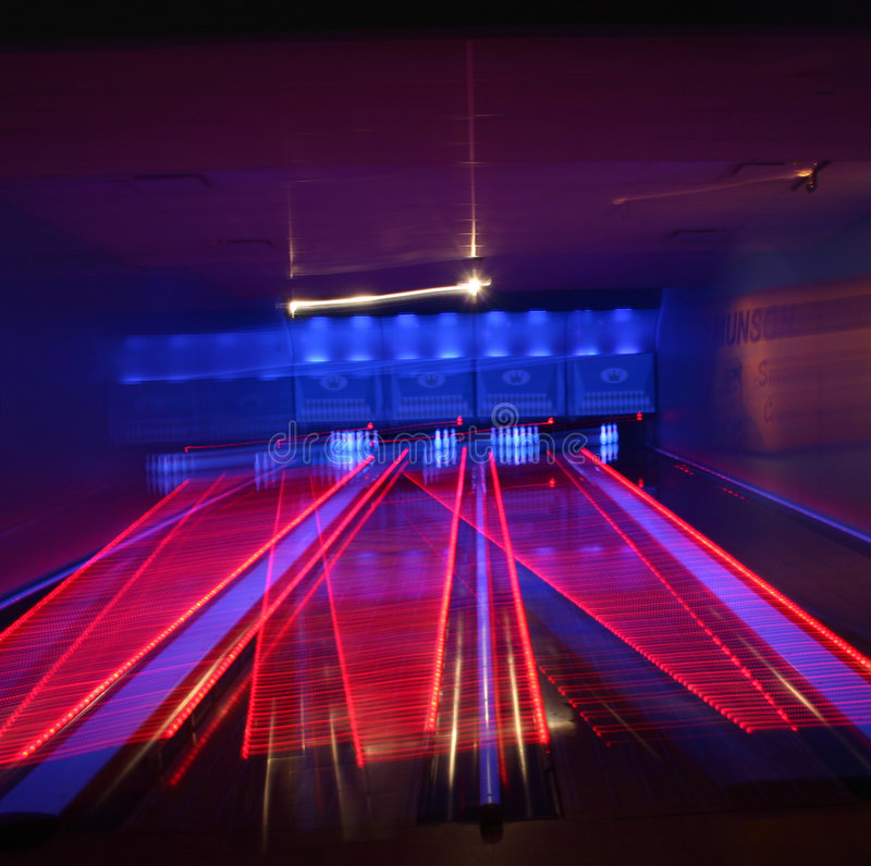 Bowling Alley royalty free stock photography