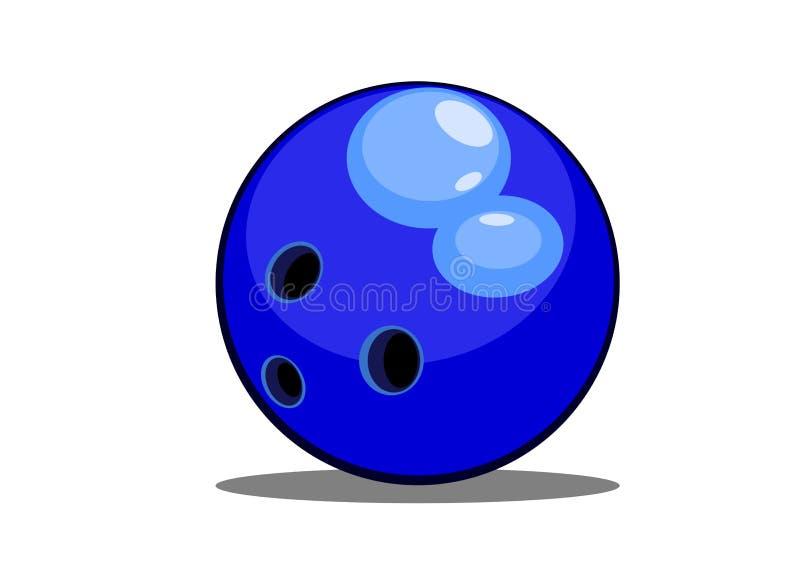 Download Bowling ball stock illustration. Image of lane, illustration - 25233115