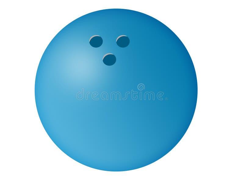 Bowling Ball Illustration royalty free stock photo