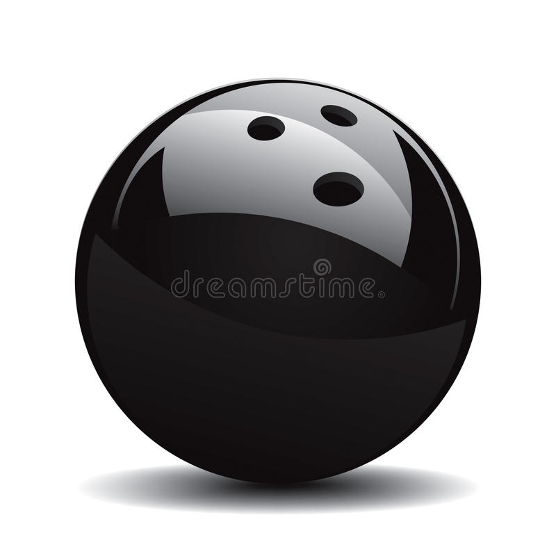Bowling Ball Set 1 royalty free illustration