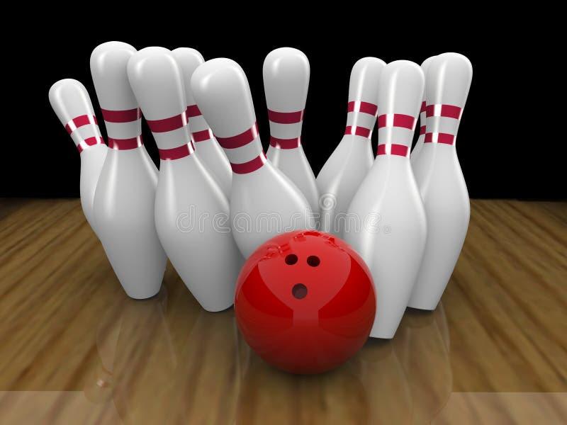 Bowling ball strike