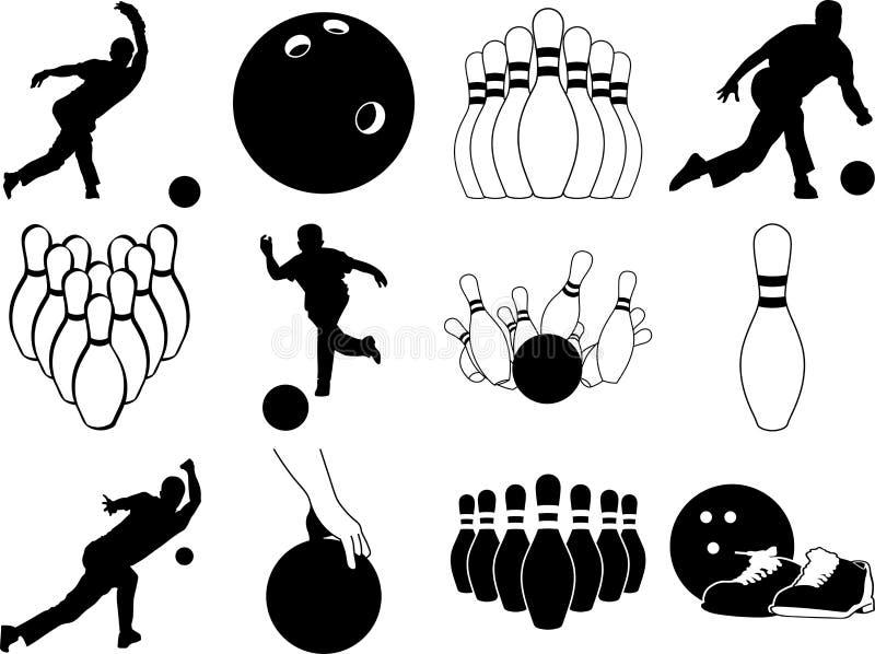 Bowling bundle vector eps illustration by crafteroks vector illustration