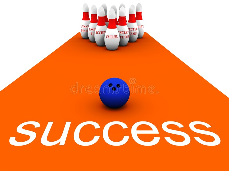 Download Bowling Business vol 1 stock illustration. Image of score - 1396295