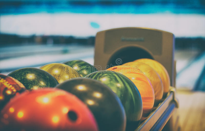 Download Bowling club. stock image. Image of leisure, competition - 63097383