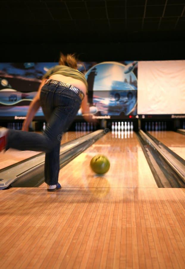 Bowling de Tenpin foto de stock