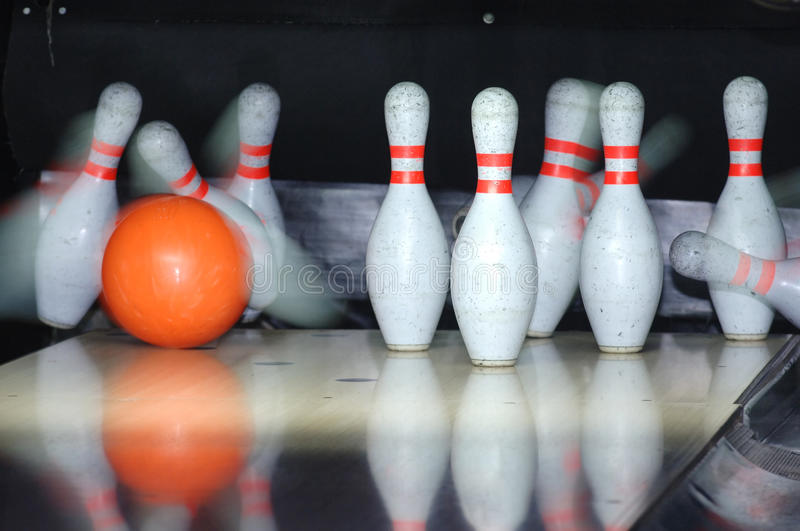 Bowling Game Royalty Free Stock Photos