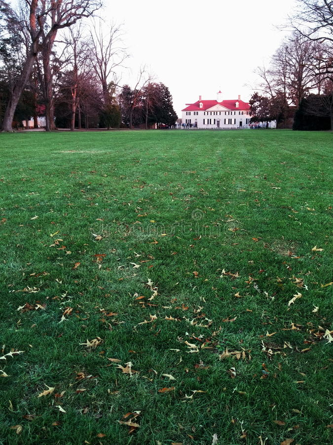 Free Bowling Green On West Front Of Mount Vernon Stock Photos - 47643843