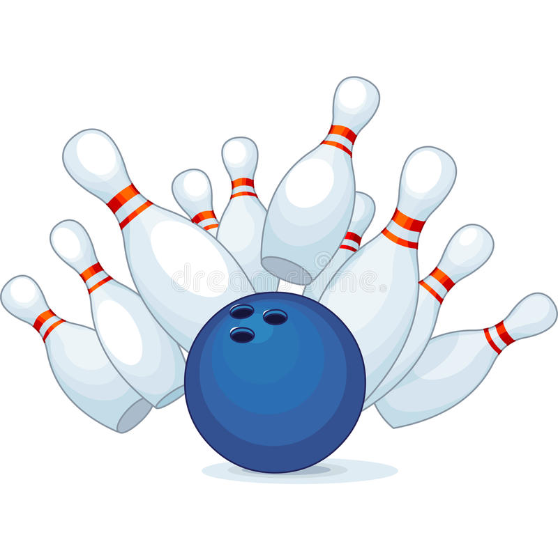 Bowling Stock Vector