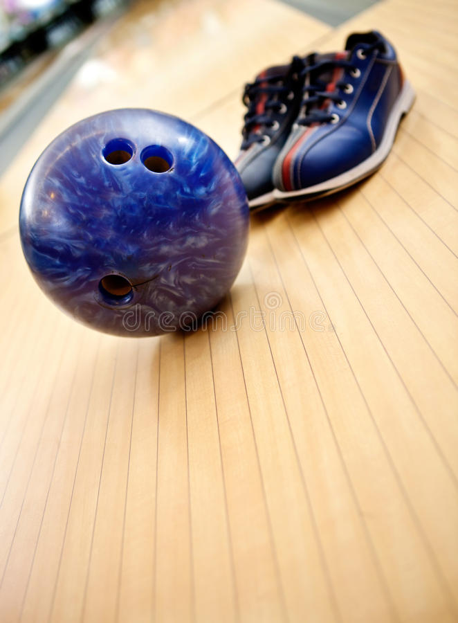 Download Bowling kit stock photo. Image of sports, alley, shoes - 23267274