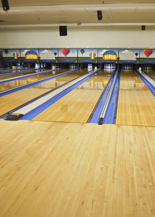 Bowling Lanes royalty free stock photos