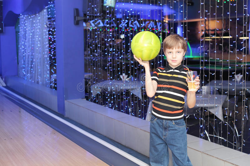 Bowling player stock photography