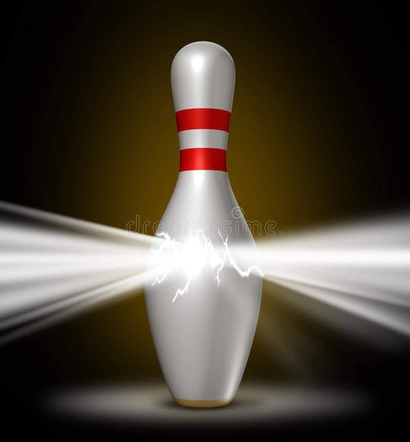 Download Bowling Power stock illustration. Illustration of confidence - 31392949