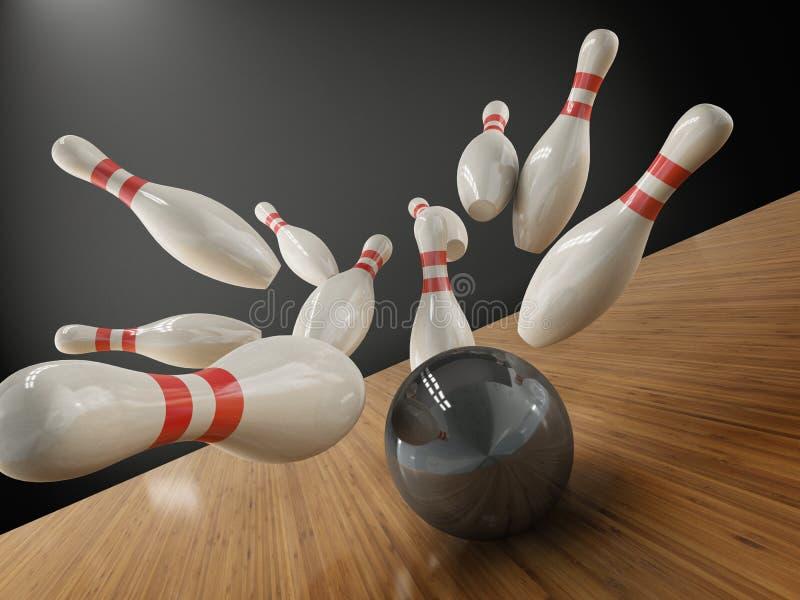 bowling vector illustration