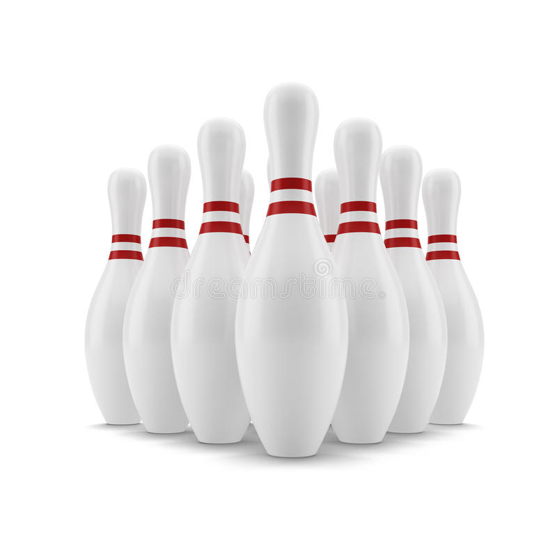 Download Bowling. Skittles Royalty Free Stock Images - Image: 27968969