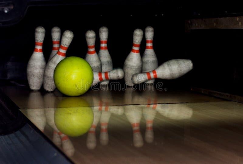 Bowling strike stock photos
