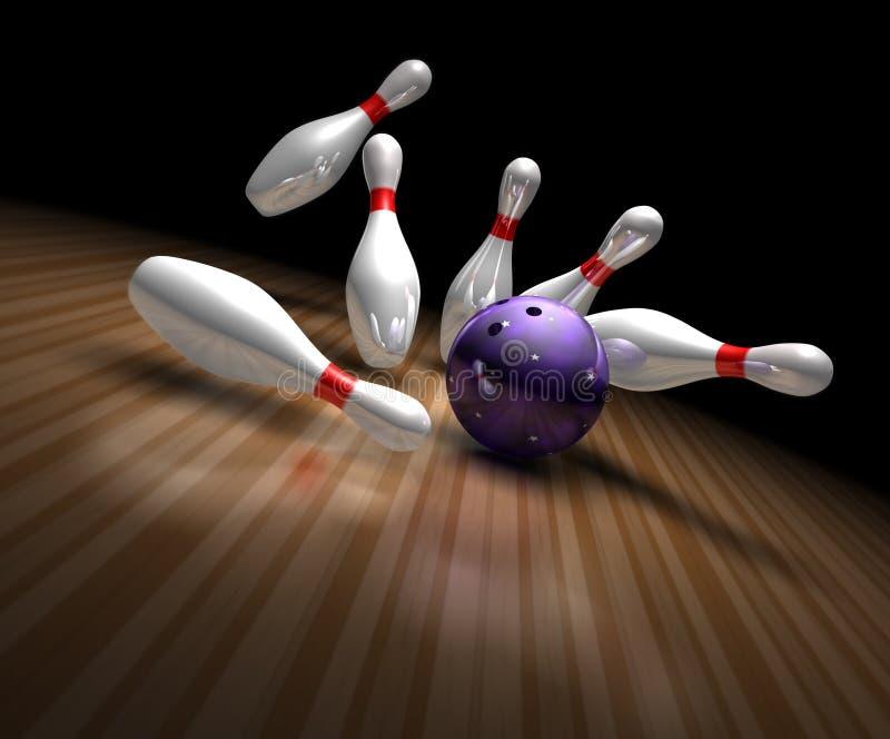 Download Bowling Strike Royalty Free Stock Image - Image: 22829766