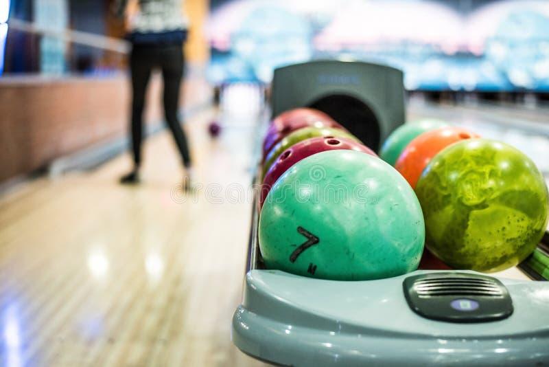 Bowlingklot royaltyfria foton