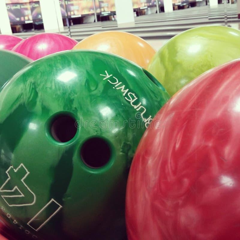 Bowlingklot - Brunswick royaltyfria foton