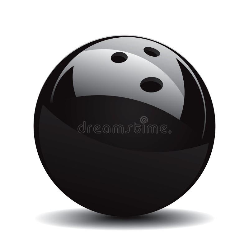 Bowlingspiel-Kugel stellte 1 ein lizenzfreie abbildung
