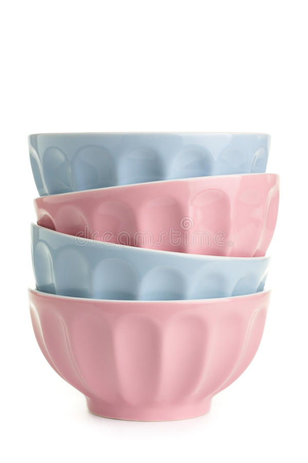 Download Bowls stock image. Image of empty, kitchenware, white - 16643353
