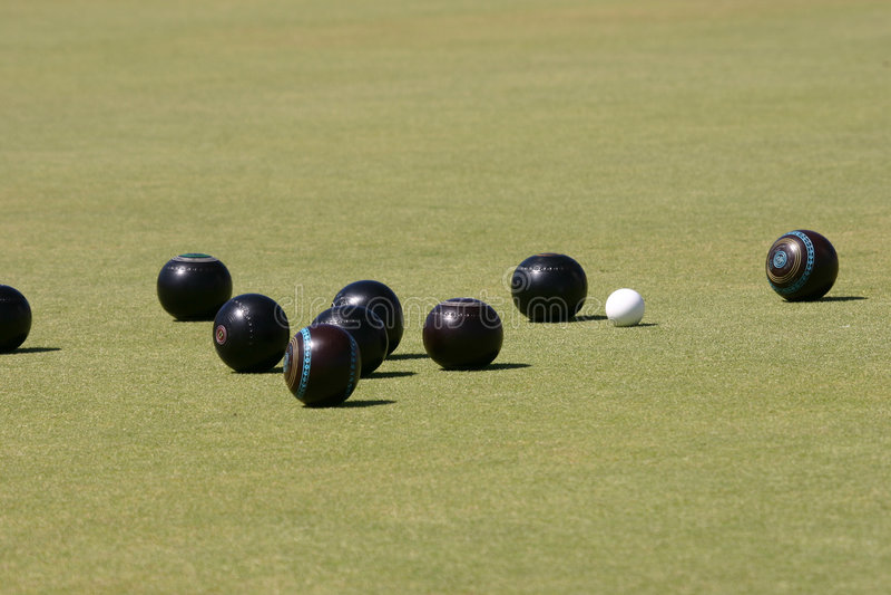 Download Bowls stock photo. Image of tournament, brown, jack, bowls - 379540