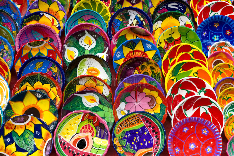 Download Bowls of Color stock photo. Image of purple, bowls, mexican - 12548746