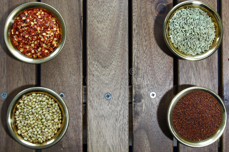 Download Bowls Of Spices Stock Photo - Image: 88676419