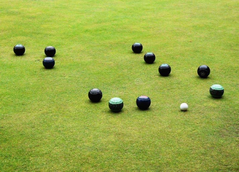 Bowls Sport - Bowling Green stock photo