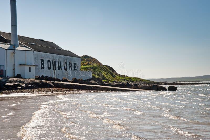 Bowmore Brennerei stockfoto