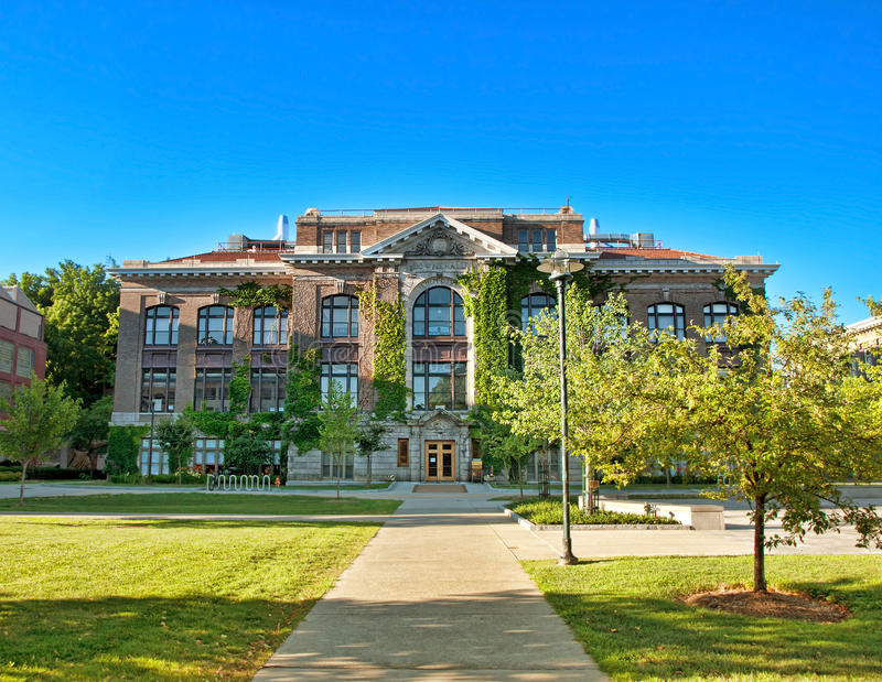 Bowne Hall стоковое фото rf