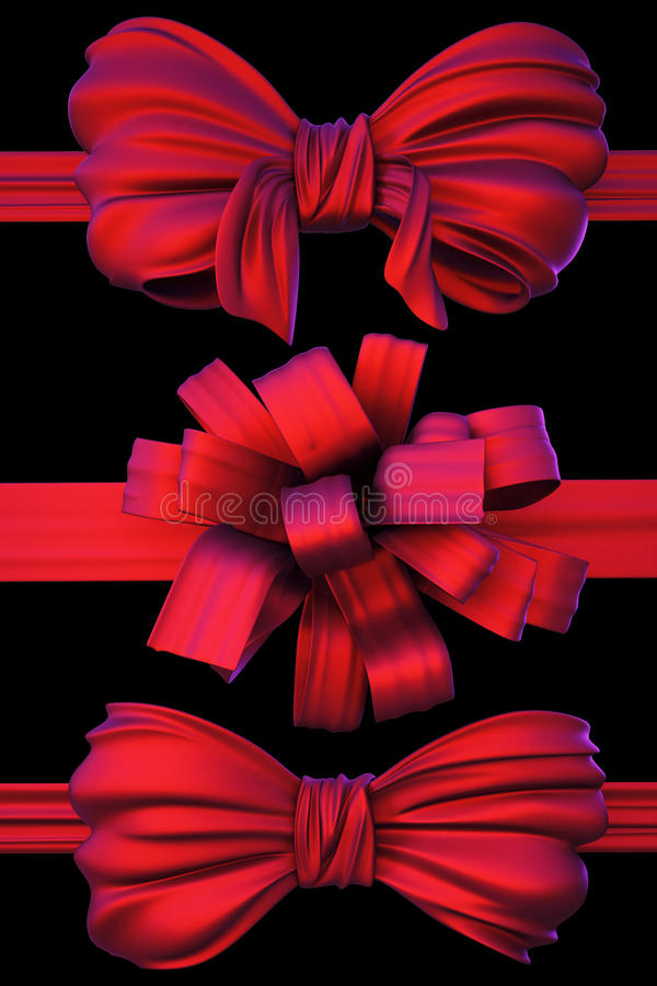 bows stock illustrationer