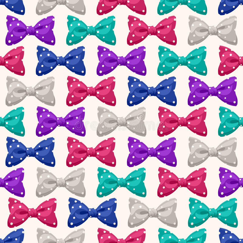 Free Bows With Dots - 2 Royalty Free Stock Photography - 37764247