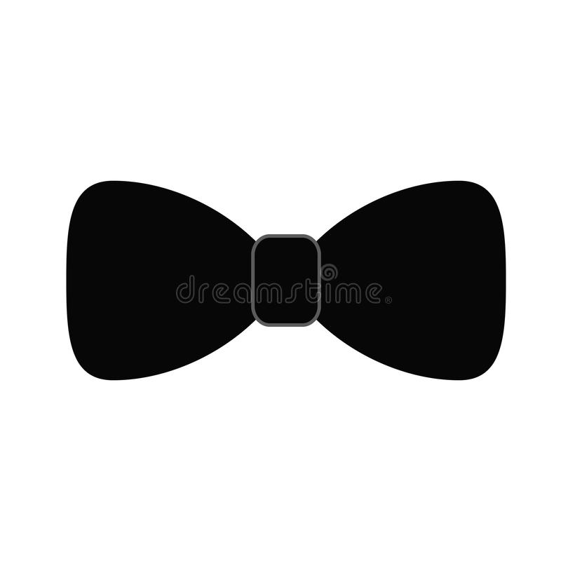 Bowtie or bow icon image vector illustration design black and white. Eps 10 royalty free illustration