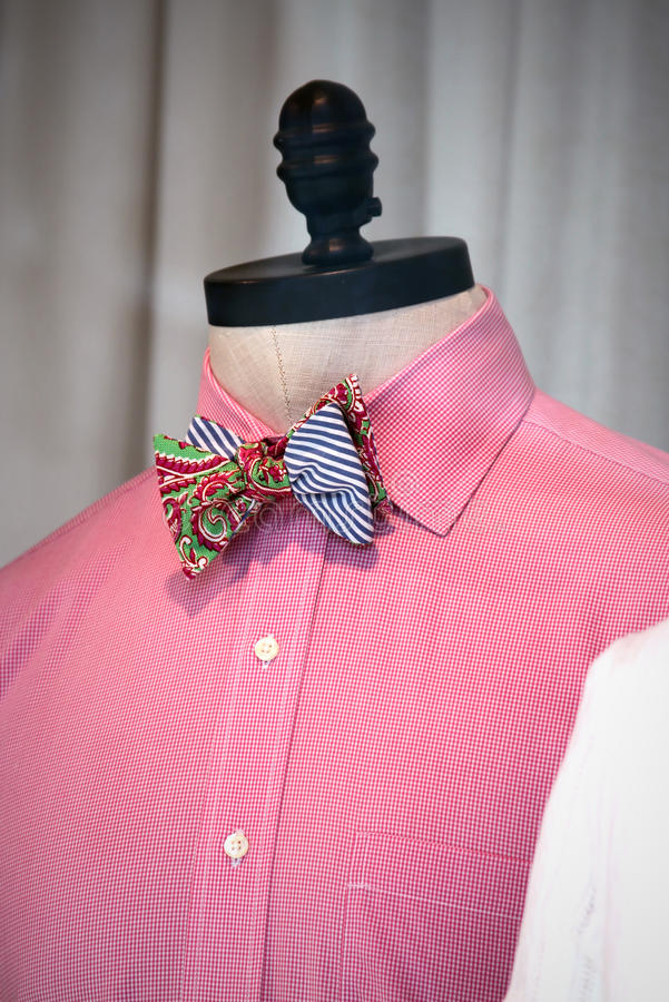 Download Bowtie on a mannequin stock image. Image of clothes, elegant - 24805675