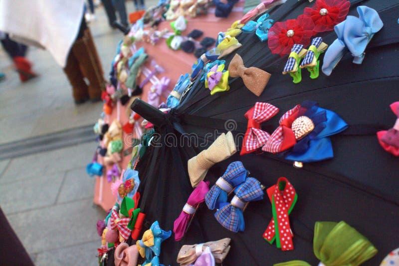 Bowtie parasol zdjęcia stock