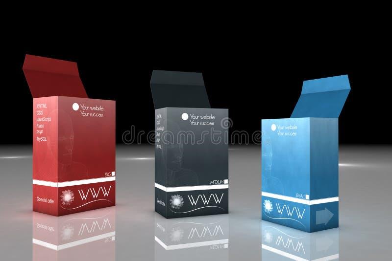 Download Box stock illustration. Illustration of proposal, sale - 12295998