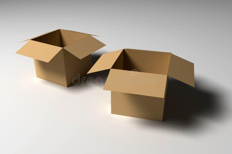Box royalty free illustration