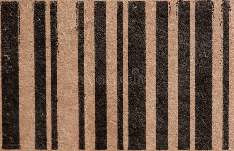 Box Bar Code Stock Photography
