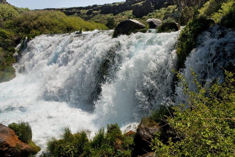 Box Canyon Falls Idaho royalty free stock images