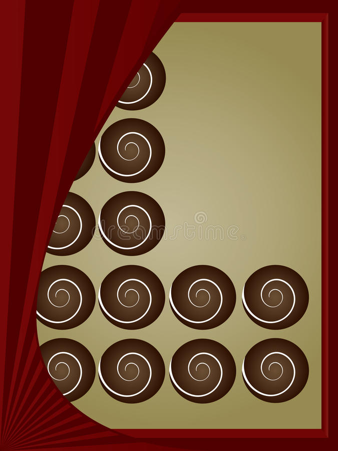 Download A box of chocolates stock vector. Image of golden, isolated - 10224399