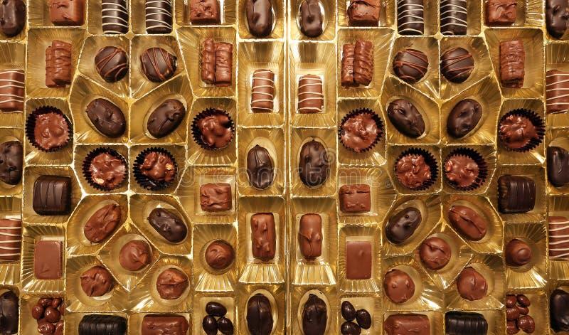 box choklader royaltyfri bild