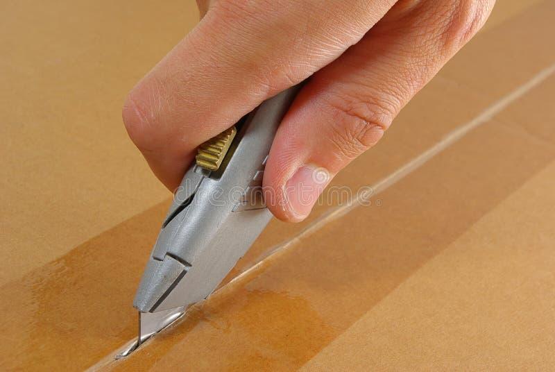 Box cutters stock photo