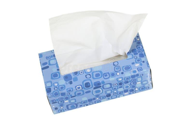 Box with Facial Tissues royalty free stock photos